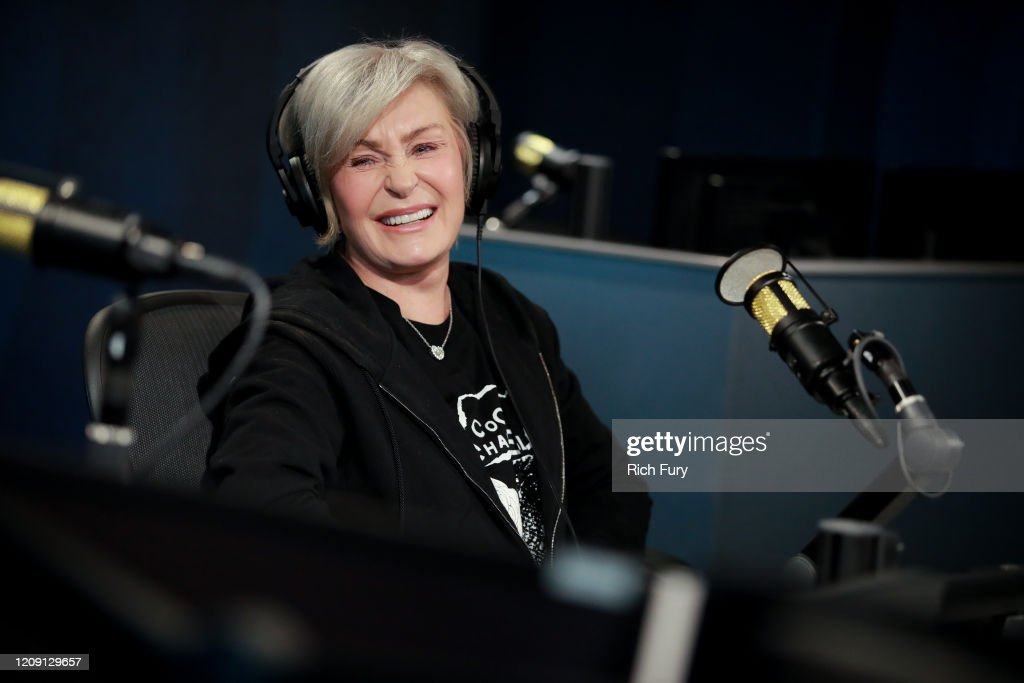 Sharon Osbourne And Dr. Drew Visit The SiriusXM Hollywood Studio : News Photo