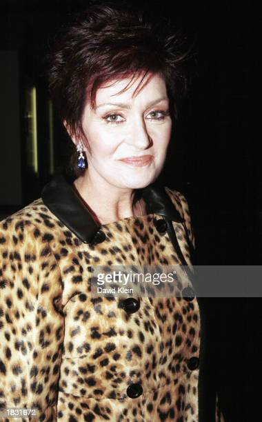 Sharon Osbourne wife of rock star Ozzy Osbourne arrives at the CNN studios for an interview on the CNN show Larry King Live on March 3 2003 in...