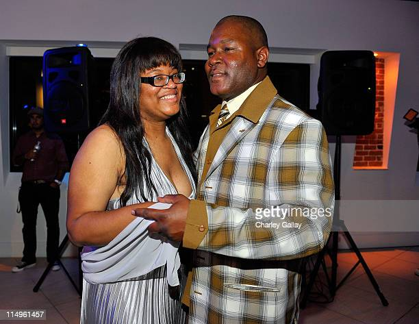 **EXCLUSIVE** Sharon Palmer and Larry Palmer attend Keke Palmer's sweet 16 birthday party sponsored by TMobile Sidekick LX held at LoftSEVEN on...