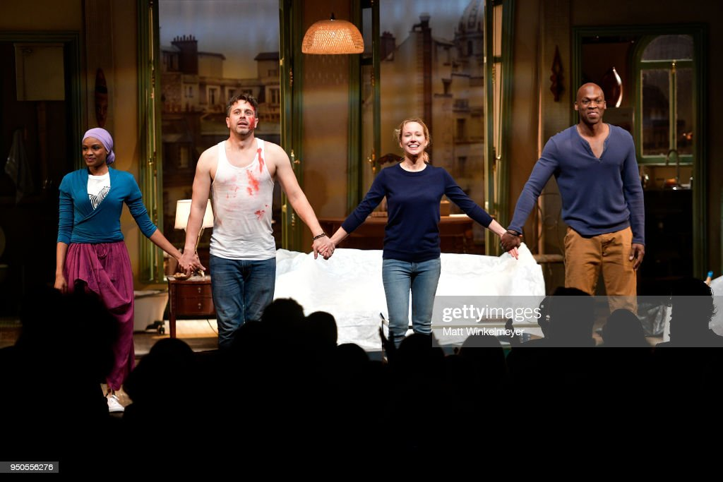 "Pasadena Playhouse Presents Opening Night Of ""Belleville"" - Curtain Call"