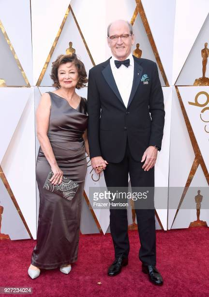 Sharon R Friedrick and Richard Jenkins attend the 90th Annual Academy Awards at Hollywood Highland Center on March 4 2018 in Hollywood California