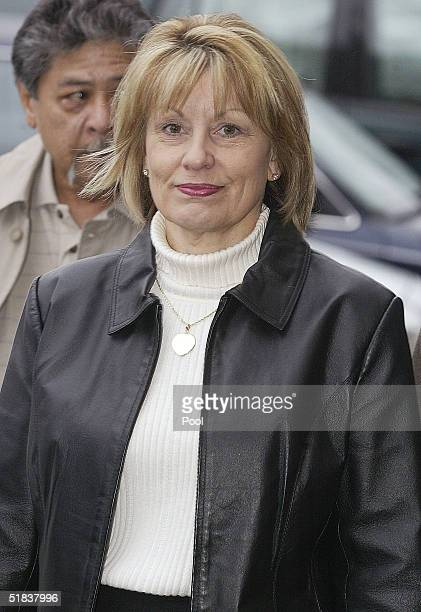 Sharon Rocha mother of murder victim Laci Peterson arrive at the San Mateo Court House for the sentencing phase of the Scott Peterson trial December...