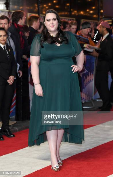 Sharon Rooney attends the European premiere of 'Dumbo' at The Curzon Mayfair on March 21, 2019 in London, England.