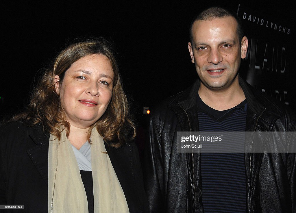 Sharon Shamir and Dror Shaul during 'Inland Empire' Los Angeles Premiere - Red Carpet and Q&A at Bing Theater at LACMA Museum in Los Angeles, California, United States.