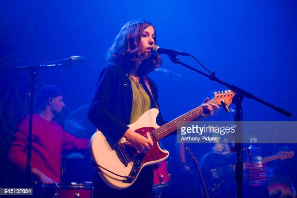 Sharon Silva of The Wild Reeds performs on stage at the Aladdin Theater in Portland Oregon United States on 8th March 2018