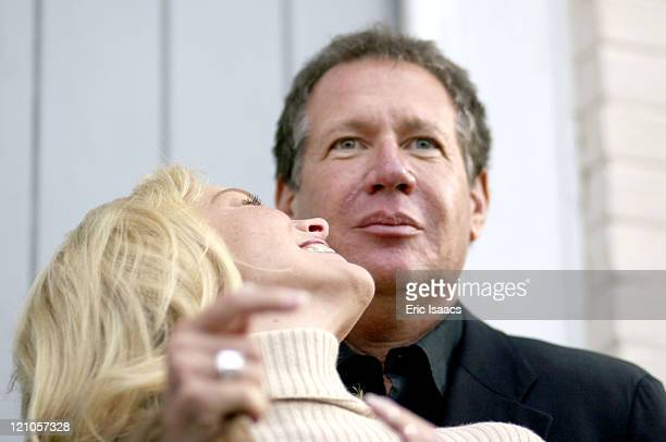 Sharon Stone and Garry Shandling during 21st Annual Santa Barbara International Film Festival Special Thanks to Roy London at Victoria Theatre in...