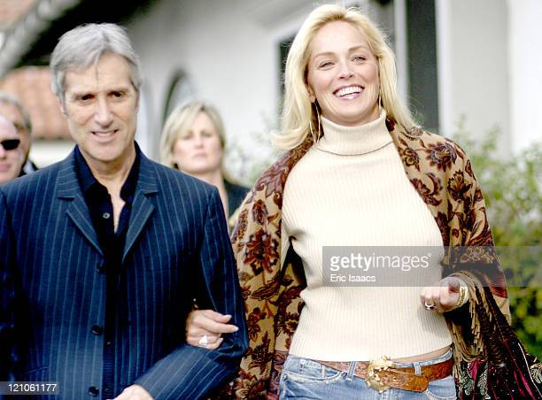 Sharon Stone and guest during 21st Annual Santa Barbara International Film Festival Special Thanks to Roy London at Victoria Theatre in Santa Barbara...