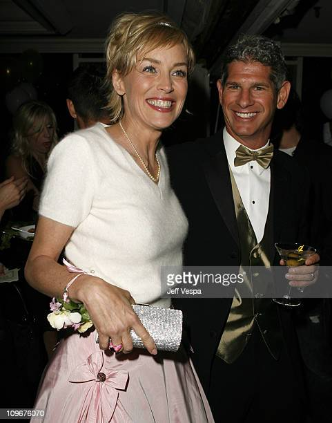 Sharon Stone and guest during Sharon Stone and Kelly Stone Host the 1st Annual 'Class of Hope Prom 2007' Charity Benefit Red Carpet and Inside at...