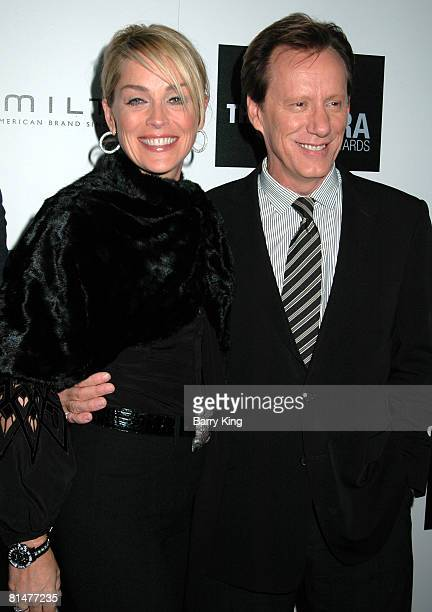 Sharon Stone and James Woods