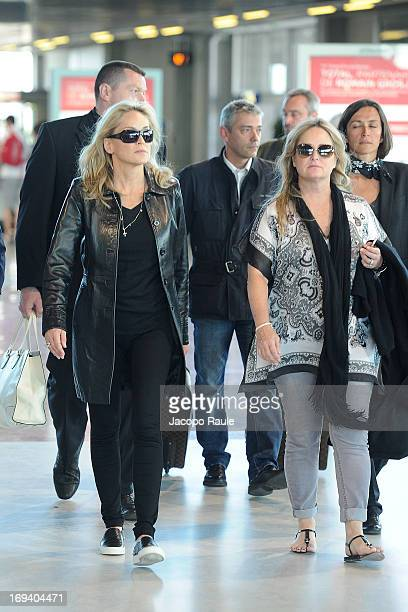 Sharon Stone and Kelly Stone are seen during The 66th Annual Cannes Film Festival on May 24 2013 in Nice France