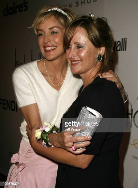 Sharon Stone and Kelly Stone during Sharon Stone and Kelly Stone Host the 1st Annual 'Class of Hope Prom 2007' Charity Benefit Red Carpet and Inside...