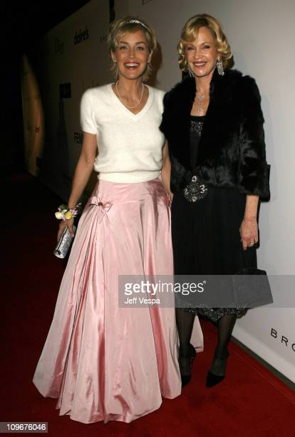 Sharon Stone and Melanie Griffith during Sharon Stone and Kelly Stone Host the 1st Annual 'Class of Hope Prom 2007' Charity Benefit Red Carpet and...
