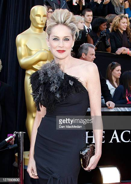 Sharon Stone arrives at the 83rd Annual Academy Awards held at the Kodak Theatre on February 27 2011 in Hollywood California