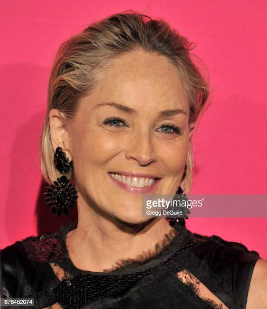 Sharon Stone arrives at the MOCA Gala 2017 at The Geffen Contemporary at MOCA on April 29 2017 in Los Angeles California