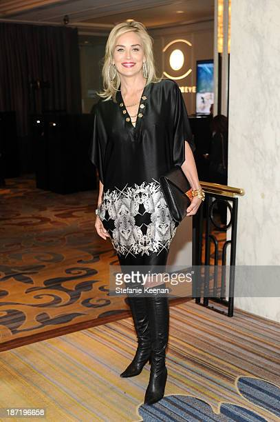 Sharon Stone attends 8th MOCA Award To Distinguished Women In The Arts Honoring Lita Albuquerque Helen Pashgian Nancy Rubins And Betye Saar at the...