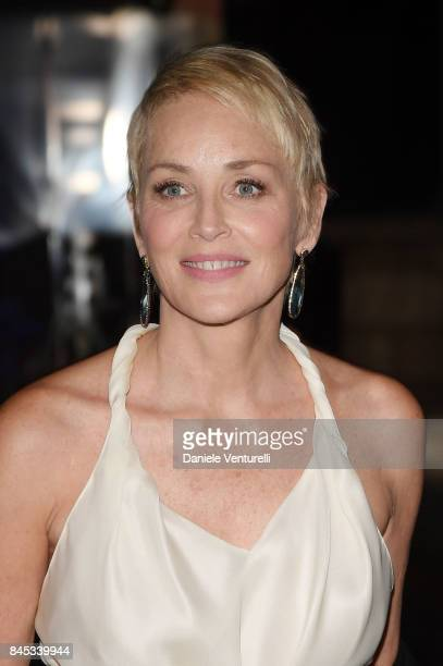 Sharon Stone attends Celebrity Fight Night on September 10 2017 in Rome Italy