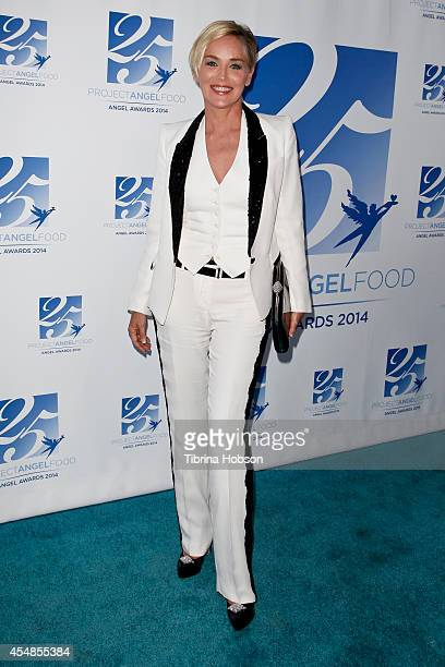 Sharon Stone attends Project Angel Food's 25th year celebration at Project Angel Food on September 6 2014 in Los Angeles California