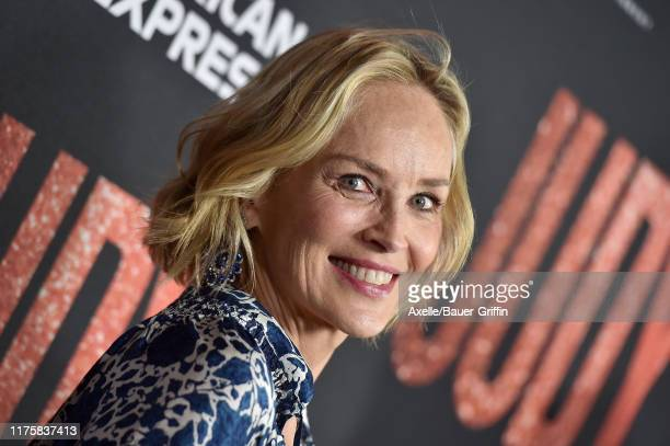 """Sharon Stone attends the LA Premiere of Roadside Attraction's """"Judy"""" at Samuel Goldwyn Theater on September 19, 2019 in Beverly Hills, California."""