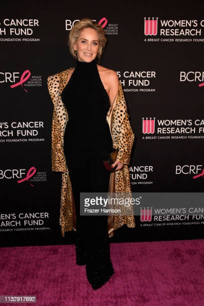 Sharon Stone attends The Women's Cancer Research Fund's An Unforgettable Evening Benefit Gala at the Beverly Wilshire Four Seasons Hotel on February...