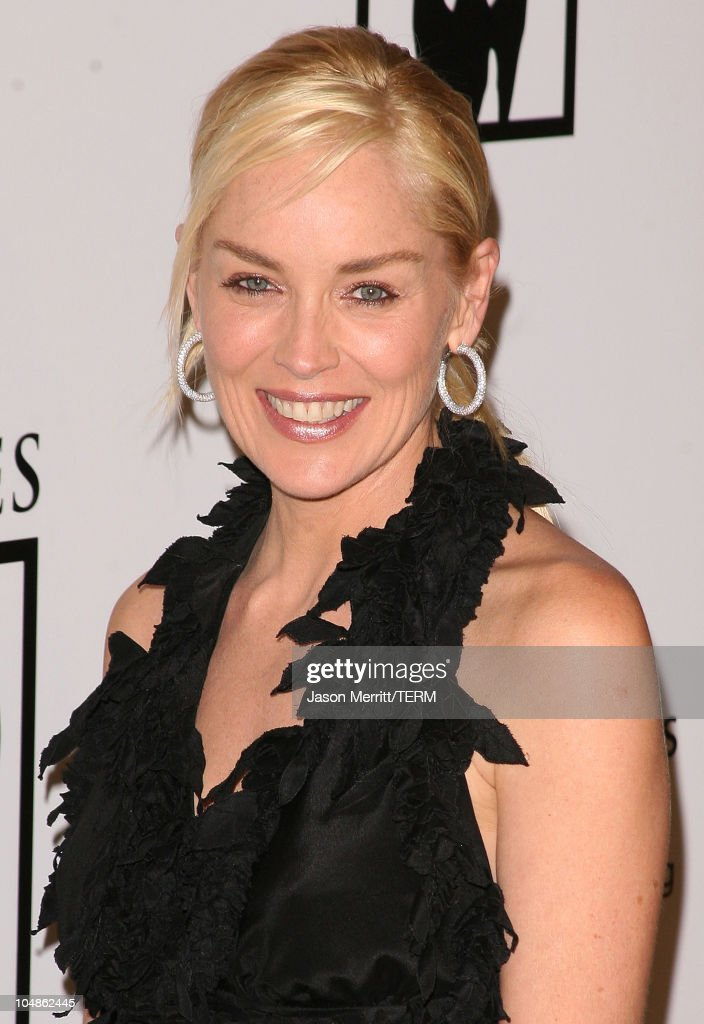 Sharon Stone during 1st Annual The Billies Awards- Arrivals at Beverly Hilton Hotel in Beverly Hills, California, United States.