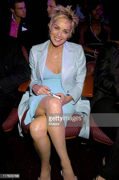 Sharon Stone during 2004 ESPY Awards Backstage and Audience at Kodak Theatre in Hollywood California United States