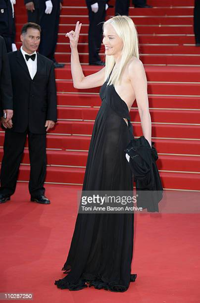 Sharon Stone during 2006 Cannes Film Festival 'Marie Antoinette' Premiere at Palais des Festival in Cannes France
