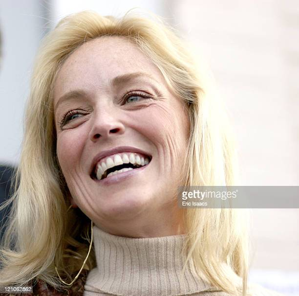 Sharon Stone during 21st Annual Santa Barbara International Film Festival Special Thanks to Roy London at Victoria Theatre in Santa Barbara...