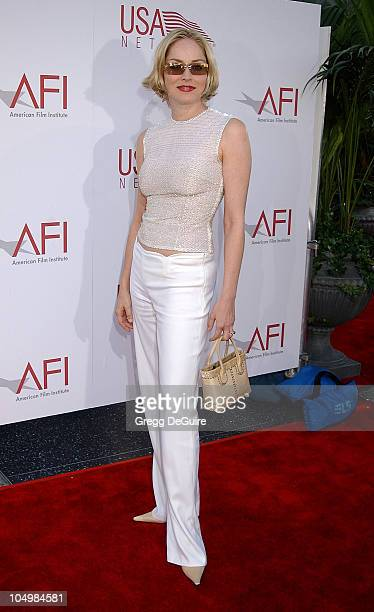 Sharon Stone during 30th AFI Life Achievement Award A Tribute to Tom Hanks at Kodak Theatre in Hollywood California United States