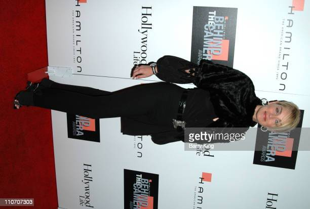 Sharon Stone during Hamilton Hollywood Life Present the Behind the Camera Awards Arrivals at The Highlands in Hollywood California United States
