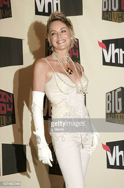Sharon Stone during VH1 Big in '04 - Press Room at Shrine Auditorium in Los Angeles, California, United States.