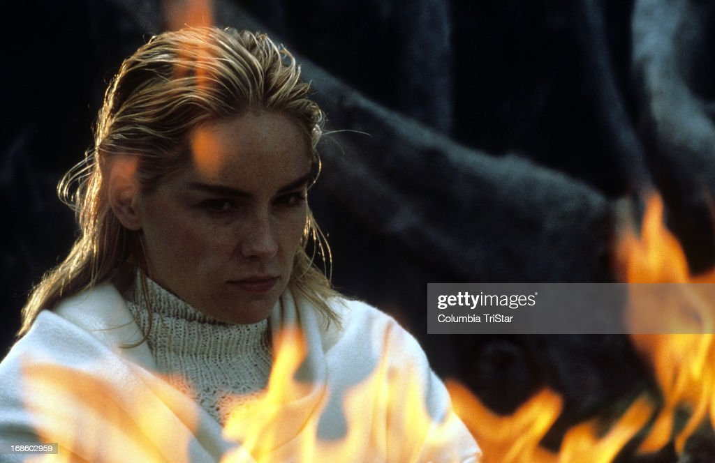 Sharon Stone In Scene From The Film Basic Instinct 1992 News Photo Getty Images
