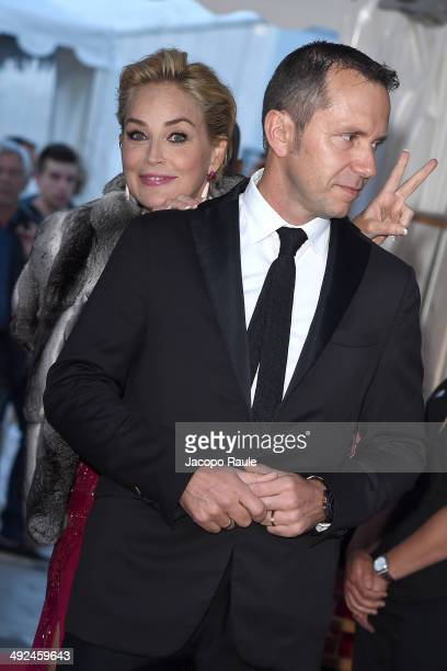 Sharon Stone is seen on day 6 of the 67th Annual Cannes Film Festival on May 20 2014 in Cannes France