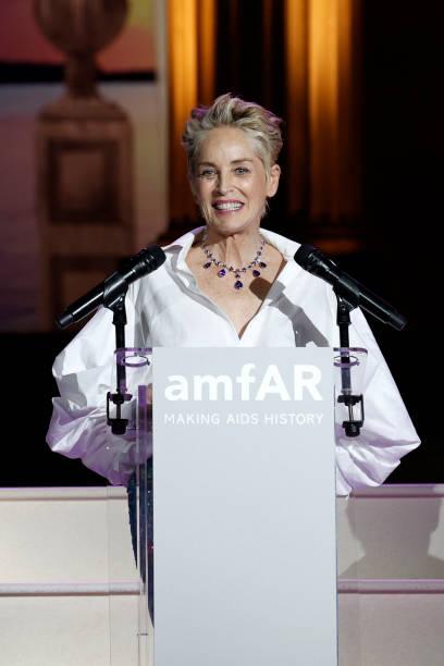 FRA: amfAR Cannes Gala 2021 Inside