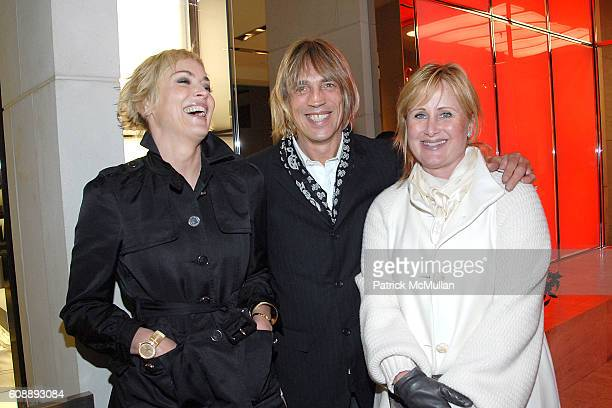 Sharon Stone Michael Stone and Kelly Stone attend GUCCI 2007 Holiday Campaign To Benefit UNICEF at Gucci on November 17 2007 in Beverly Hills CA
