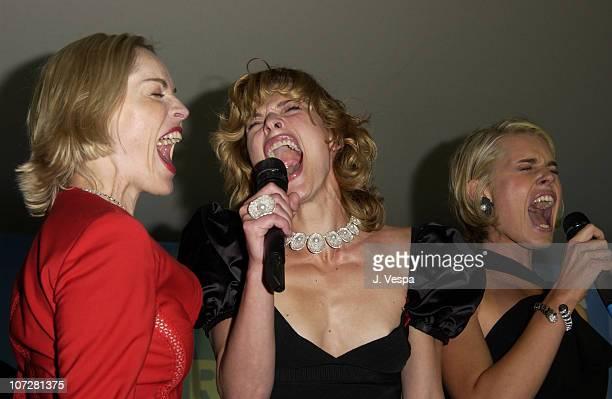 Sharon Stone, Milla Jovovich and Rebecca Romjin-Stamos