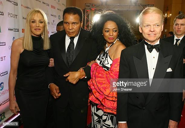 Sharon Stone Muhammad Ali Diana Ross and Jimmy Walker