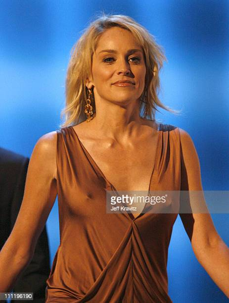 Sharon Stone presenter during 2006 American Music Awards Show at Shrine Auditorium in Los Angeles CA United States