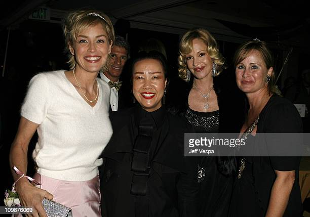 Sharon Stone Sue Wong Melanie Griffith and Kelly Stone
