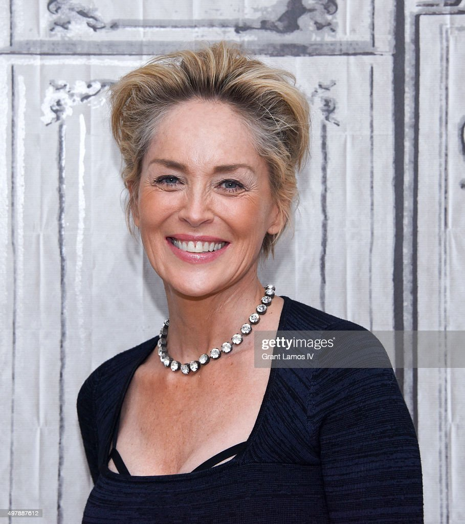 AOL BUILD Series: Sharon Stone, 'Agent X' : Nachrichtenfoto