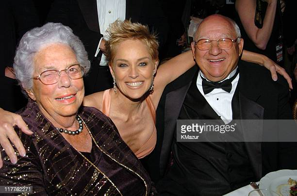 Sharon Stone with Doris Gere and Homer Gere