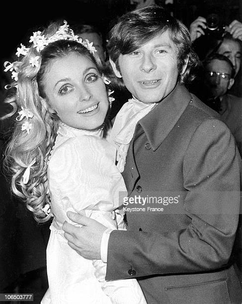 Sharon Tate And Roman Polanski'S Wedding In 1969