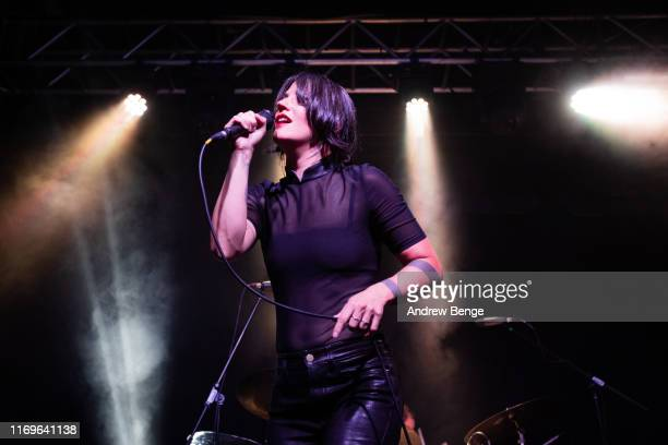Sharon Van Etten performs on stage at Stylus on August 22 2019 in Leeds England