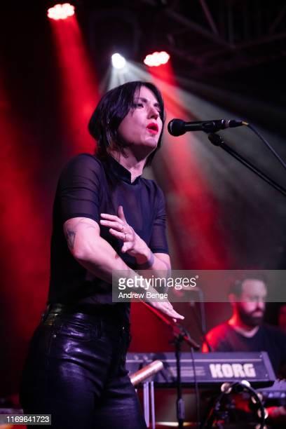 Sharon Van Etten performs on stage at Stylus on August 22 2019 in Leeds England