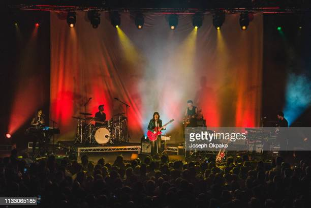 Sharon Van Etten performs on stage at The Roundhouse on March 26, 2019 in London, England.