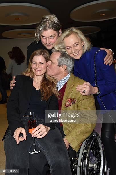 Sharon von Wietersheim and Frank Meiling Prince Peter zu Hohenlohe and Princess Uschi zu Hohenlohe attend 'Apassionata Die goldene Spur' Munich...