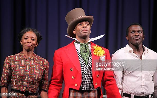 Sharon Washington Colman Domingo Joshua Henry during the Opening Night Performance Curtain Call for The Scottsboro Boys at the Lyceum Theatre in New...