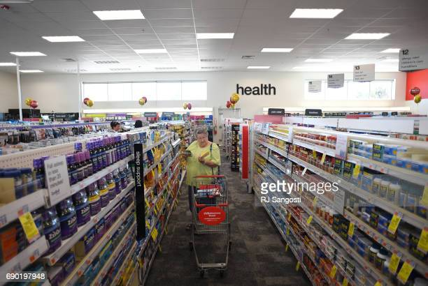 Sharon Wells shops at the new CVS Pharmacy on May 30 2017 in Parker Colorado The Parker location is the first standalone CVS location in Colorado
