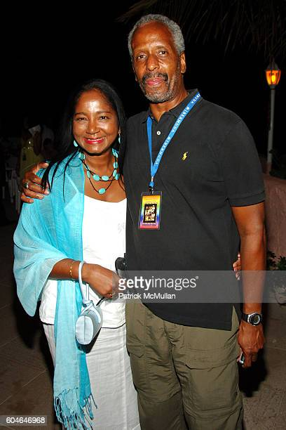 Sharon White and Rick White attend BERMUDA MUSIC FESTIVAL 2006Day 1 at Fairmont Southampton Beach Club on October 4 2006 in Whaler Inn Bermuda