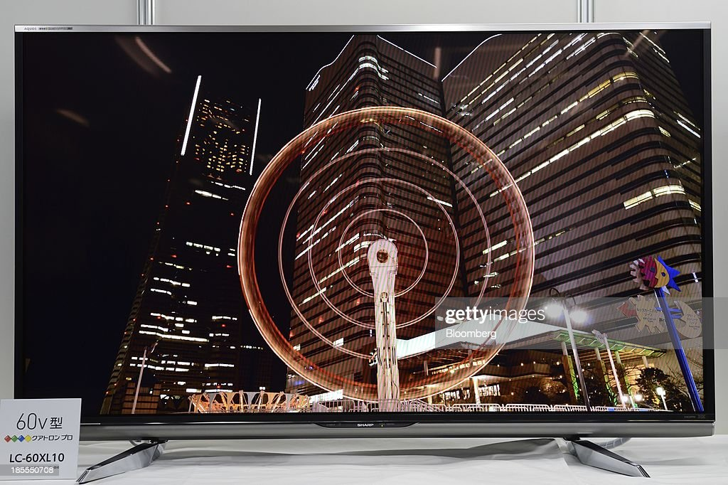 Sharp Corp. Announces New full-HD LCD TV Lineup : News Photo