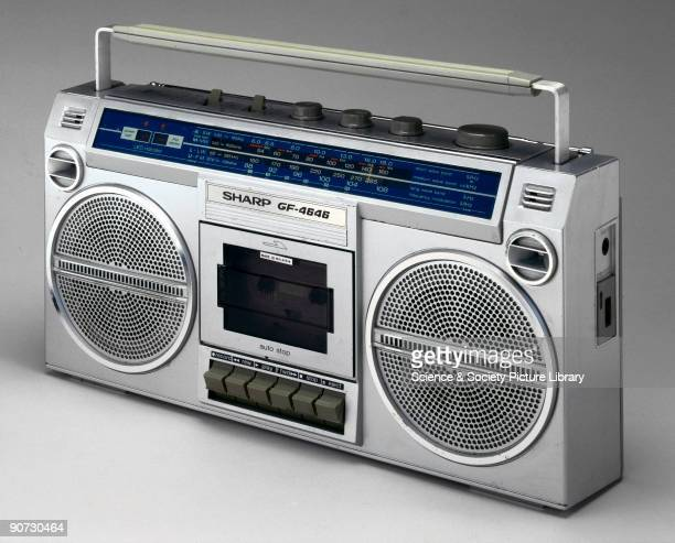Sharp GF4646 radio and cassette tape player Known as 'Ghetto Blasters' sheer size and volume counted for everything Being seen and heard with one was...